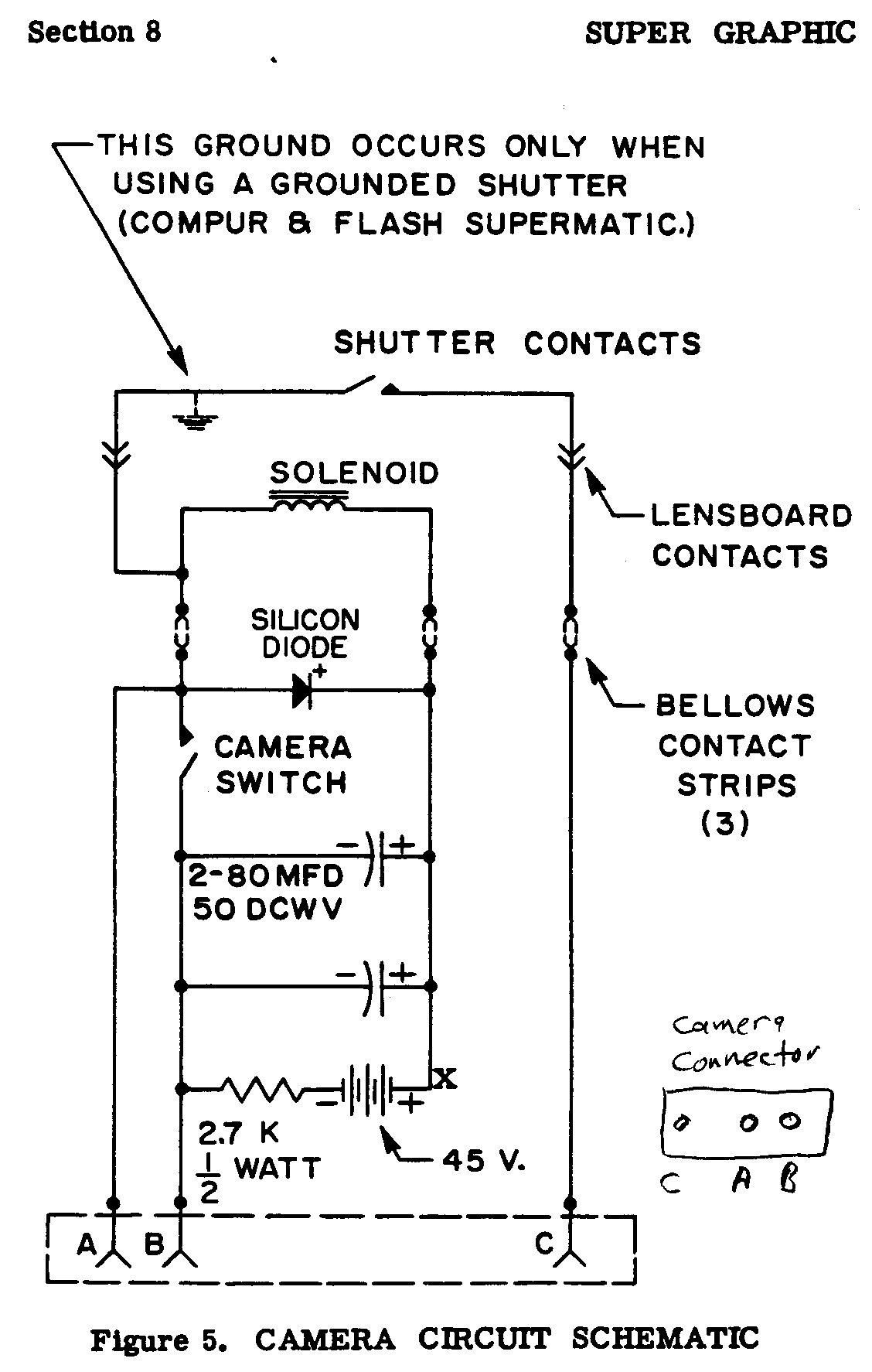 South Bristol Views Graflex Manuals And More 07 02 04 16 True T 23 Wiring Diagram Super Graphic
